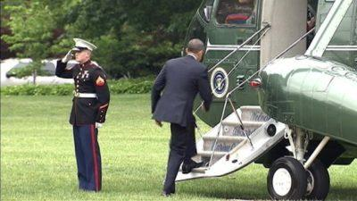 President Obama Ignores A Marine's Salute, And Then This Happened…