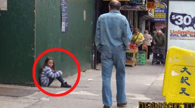 A Man Comes Across A Young Girl Lost On The Streets. What Happens Next Will Give You Chills!