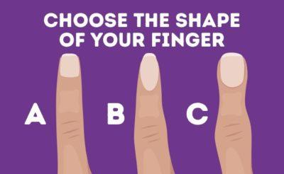 Find Out What The Shape Of Your Finger Says About Your Personality